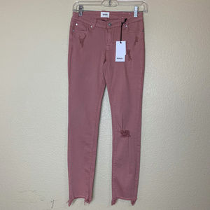 Hudson Kids Slim Straight Ankle Skinny Twill Pants